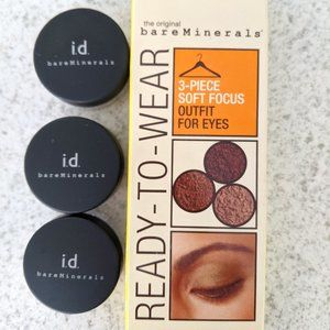 BareMinerals Ready-to-Wear 3 pc eye SEALED NEW